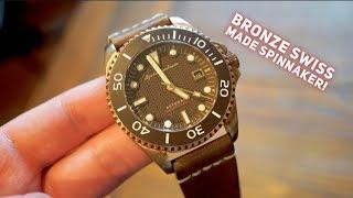 Spinnaker Tesei Dive Watch Review - Spinnakers First Bronze Swiss Made Watch !