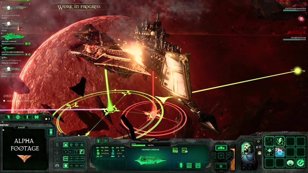 Battlefleet gothic: armada, trailer (website category), real-time strategy (media genre), focus home interactive