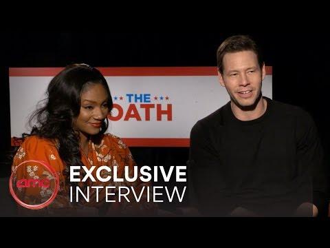 THE OATH Interviews (Ike Barinholtz, Tiffany Haddish) | AMC Theatres (2018)