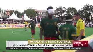 Morocco retain IBSA Blind Football African Championship title