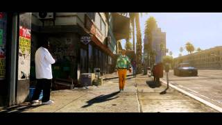 Grand Theft Auto V (GTA V) (GTA 5) Trailer (Zwiastun)