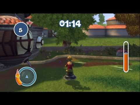 Planet 51 - Xbox 360 Mowing Lawn...Great...