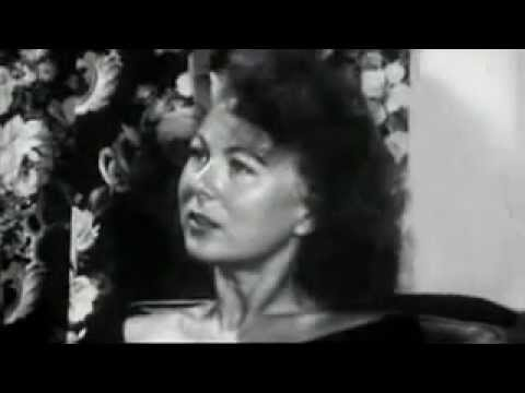 rare footage of 1950s housewife in LSD experiment