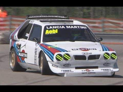 lancia delta s4 group b with terrific sound at swiss. Black Bedroom Furniture Sets. Home Design Ideas