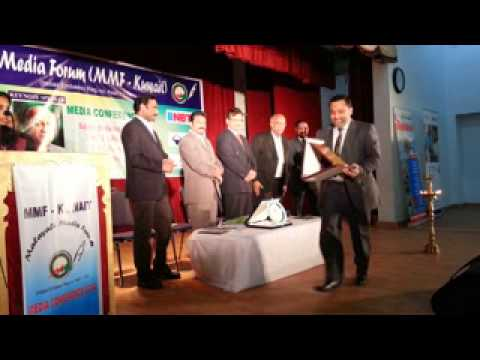 Malayali Media Forum Kuwait Media Conference 2014 - Indian Community School Khaitan