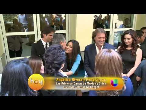 Angélica Rivera vuelve a Televisa como Primera Dama y con invitada de lujo