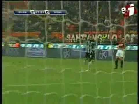 AC Milan vs Siena 4-0 All Goals and Highlights jan 17  2010