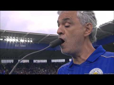 Andrea Bocelli performing Nessum Dorma and Con Te Partiro at Leicester