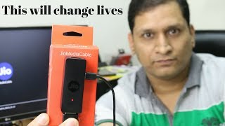 This can change Lives | Jio Media Cable