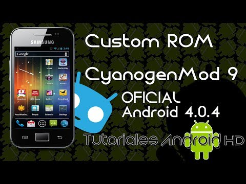 CyanogenMod 9 Beta 2 Android 4.0.4 OFICIAL Custom ROM (Inestable)  [Galaxy Ace s5830i-m-c-39i]