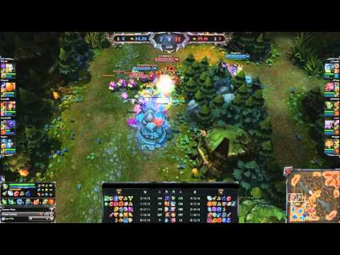 League of Legends 262 - ESL Match, CLG vs Dignitas Game Three