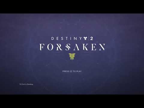 Destiny 2: Forsaken (Start Screen Soundtrack) thumbnail