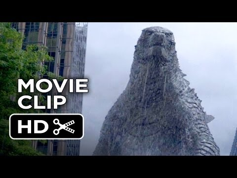 Godzilla Movie Clip - Let Them Fight (2014) - Bryan Cranston, Gareth Edwards Movie Hd video