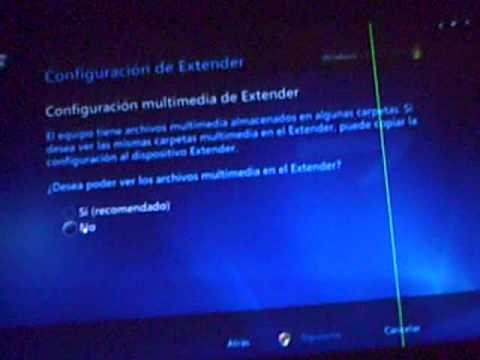 tutorial para conectar el xbox 360 a windows media center