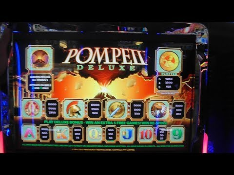 Pompeii Legends / Deluxe -- NEW SLOT -- FIRST LOOK AT NEW ARISTOCRAT GAME