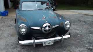 1950 Studebaker champion running after sitting 33 years.