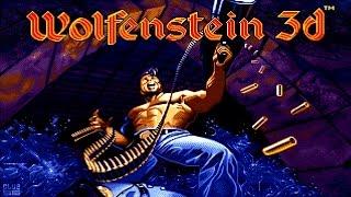 Wolfenstein 3D HD Remastered [ Xbox 360 ] Gameplay - First Floor 100 % Achievements & Secret Level