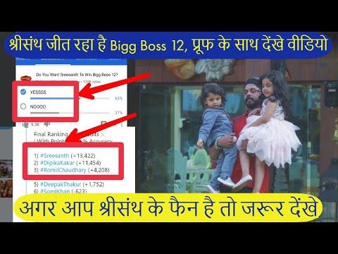 Sreesanth जीत रहा है Bigg Boss 12 की Trophy, देखिए प्रूफ ||Sreesanth Will Win Bigg Boss || BB 12 ||