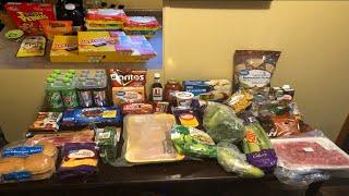 $78 Walmart & Mini Kroger Grocery Haul! Family of 4