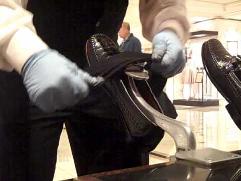 spitshine shoes with shoe polish water and heat wmv   youtube