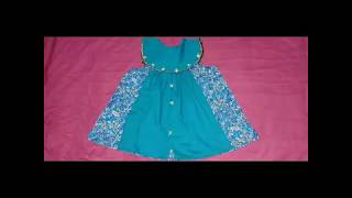 stylish And Creative Baby Frock Cutting And Stitching
