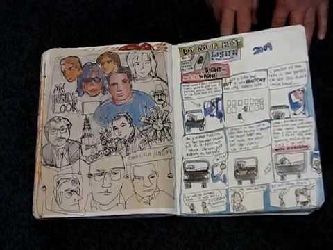 Moleskine Cahier Sketchbook May – August 2009