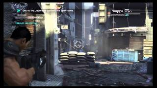 Binary Domain Gameplay - Campaign Stage 1