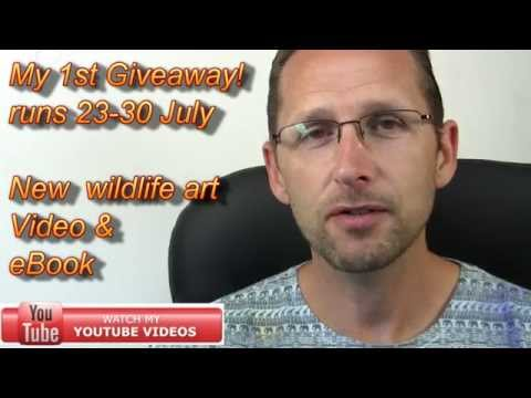 How to Paint Fur Video & eBook - Giveaway *EXPIRED* - Jason Morgan wildlife art