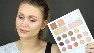 NEUE CARLI BYBEL PALETTE | BH COSMETICS DELUXE EDITION | Alltags MakeUp Look