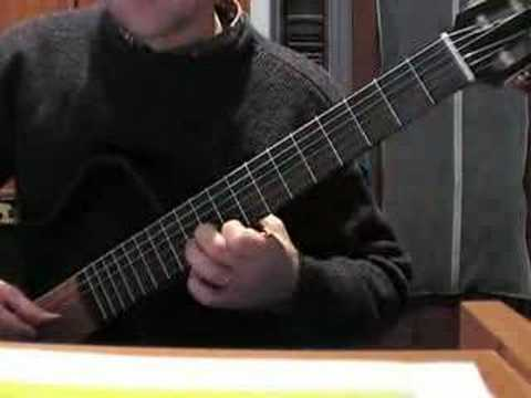 Jose Ferrer classical guitar piece