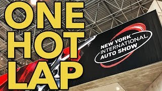 One Hot Lap of the 2019 New York auto show