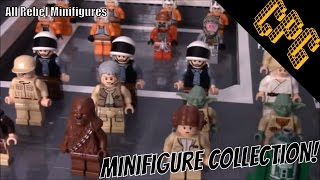 Lego Star Wars Rebel Minifigure Collection