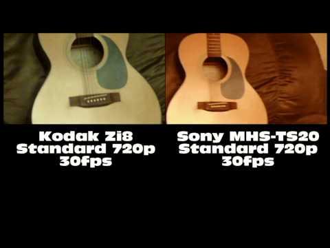 Kodak Zi8 -vs- Sony Bloggie MHS-TS20