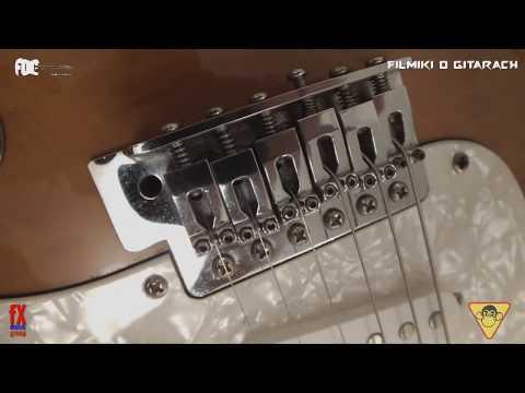 Vintage VP6  - budżetowy Stratocaster - FILMIKI O GITARACH 636
