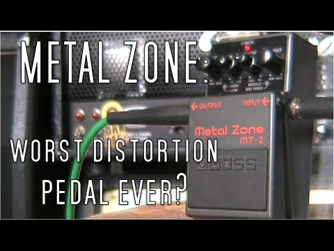 Metal Zone: Worst Distortion Pedal Ever?