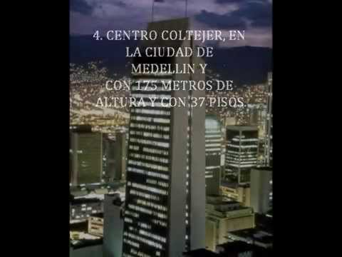 LOS EDIFICIOS MAS ALTOS DE COLOMBIA
