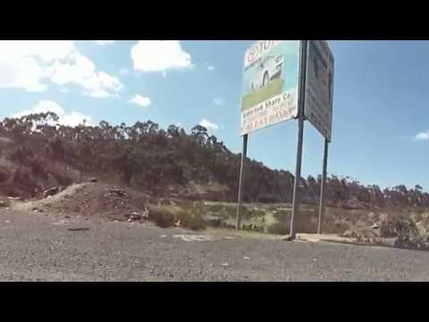ERITREA: Drive to Redsea coast of Massawa via Asmara Part 1