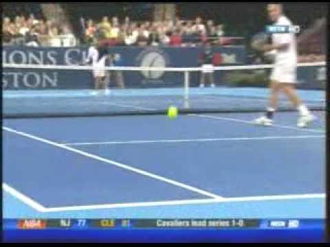Sampras vs Todd Martin - Champions Tour