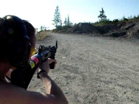 Target practice with my new Hi-Point 9mm carbine rifle 995FGTS