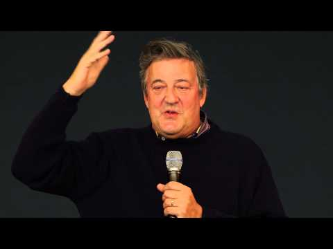 Stephen Fry Interview on Digital Language