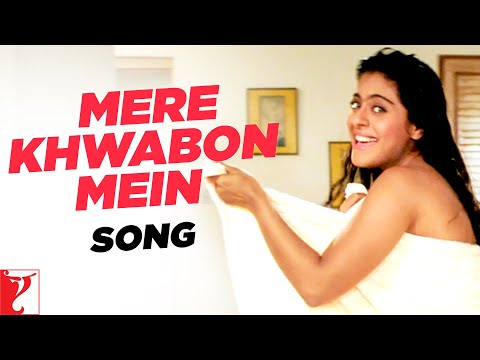 Mere Khwabon Mein - Song - Dilwale Dulhania Le Jayenge - Kajol video