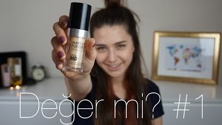 MAKE UP FOR EVER Ultra HD Fondöten | Değer mi? #1
