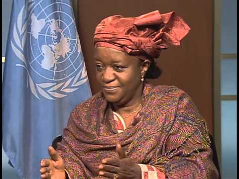 Zainab Hawa Bangura on GCTV with Bill Miller