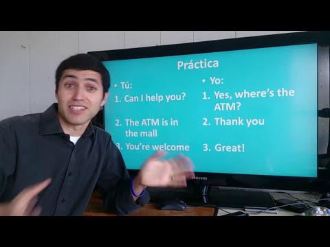 Aprender Inglés - Dar direcciones