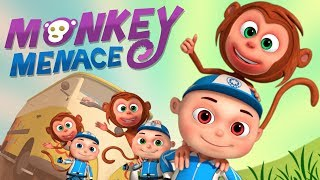 Zool Babies Series - Monkey Menace Episode | Cartoon Animation For Children | Videogyan Kids Shows