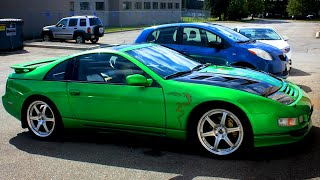 Green Kandy - Custom Painted Nissan 300ZX