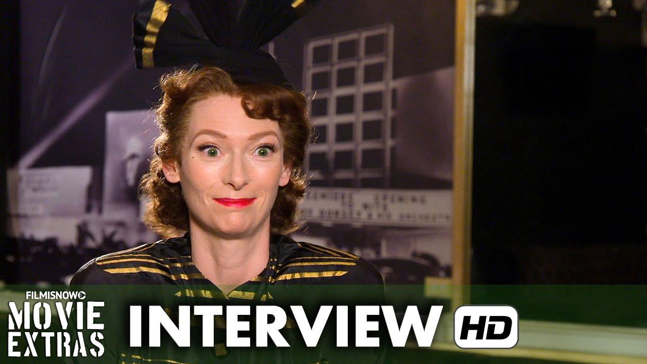 Hail, Caesar! (2016) Behind the Scenes Movie Interview - Tilda Swinton is 'Thora & Thessaly Thacker'