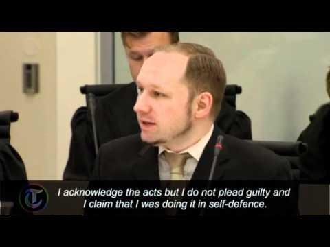 First day of Norway killer Anders Behring Breivik's trial