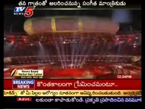 Ilayaraja Song in London Olympics 2012(TV5)