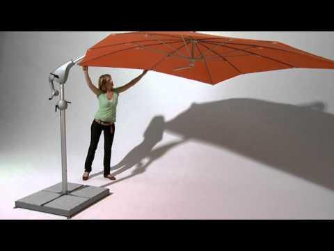 Ampelschirm Pendalex P+ Produktvideo Von Der Firma Glatz